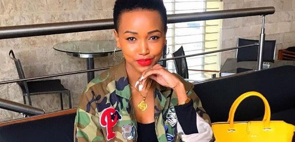 Kenyan socialite, Huddah Monroe, calls out Lagos big boys that go about claiming to have  slept with her