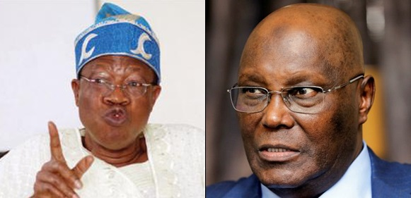 Breaking: Atiku to be invited for questioning when he returns from U.S. – Lai Mohammed