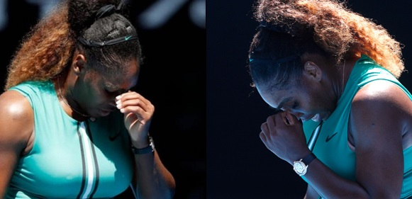 Serena Williams knocked out of Australian Open by Karolina Pliskova after leading 5-1 and holding four match points
