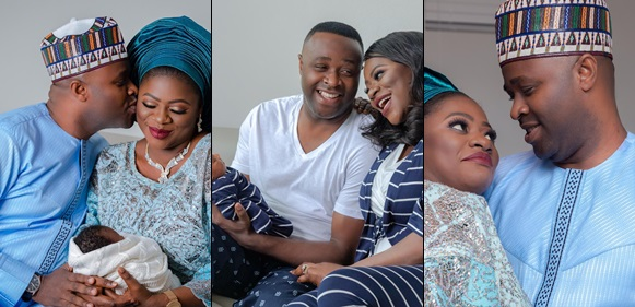 Stunning photos from Femi Adebayo's naming ceremony in Houston Texas, USA