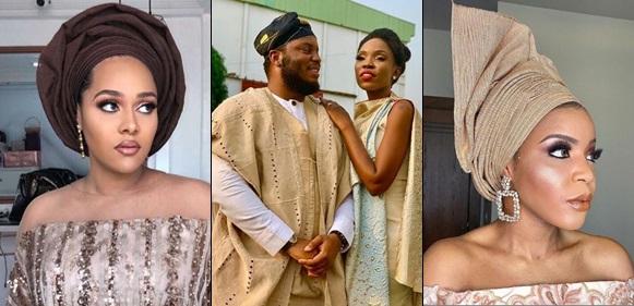 Tania Omotayo, Lola OJ, Lala Akindoju, others turned up for Adekunle Gold and Simi's wedding