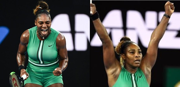 Serena Williams knocks out world's number 1, Simona Halep, to reach her 12th Australian Open quarterfinal