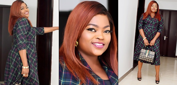 Funke Akindele-Bello Dazzles In First Photos Since Welcoming Her Twin Boys