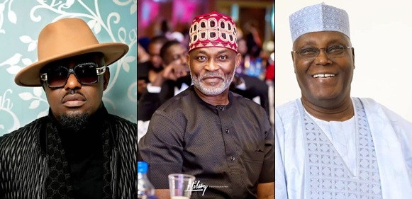 Nollywood Stars, RMD, Jim Iyke, Sani Danja, Sambo, others get Atiku's appointment