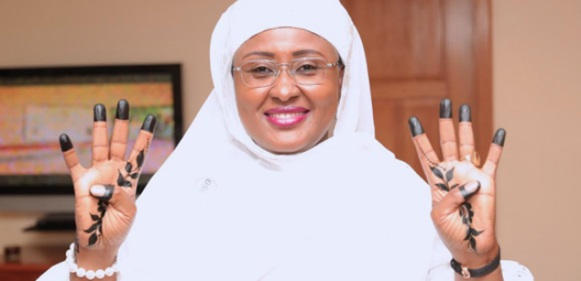 Real Reason Why President Buhari's Wife, Aisha Is No Longer Campaigning For Him
