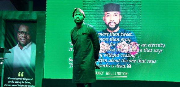 Banky W's Campaign Posters Allegedly Removed Overnight By Opponents