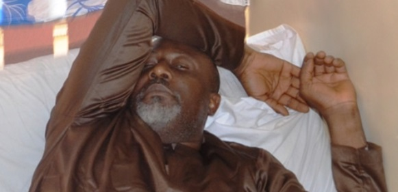 Breaking: Masked officers whisk Dino Melaye out of police hospital