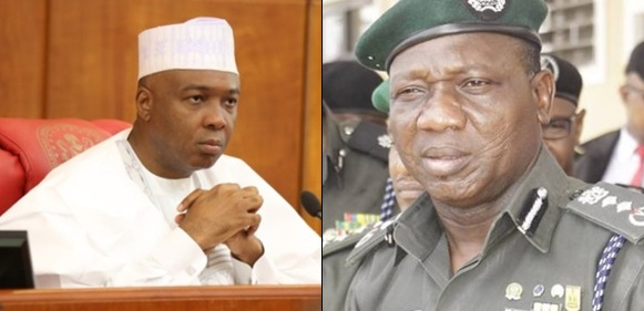 'The world should hold the IGP responsible if anything happens to members of my family and myself' - Bukola Saraki