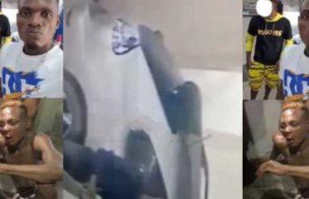 Fake yahoo boy terrorizing Benin, nabbed with the help of CCTV (Video)