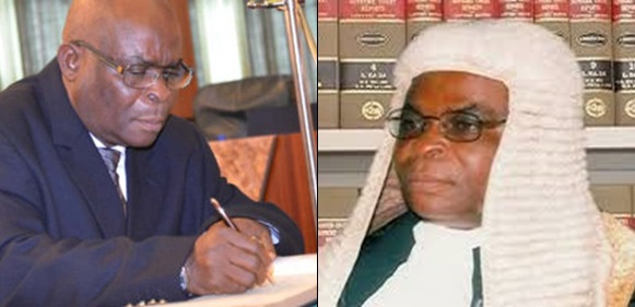CJN Onnoghen Absent As 94 Lawyers Arrive CCT Session To Defend Him