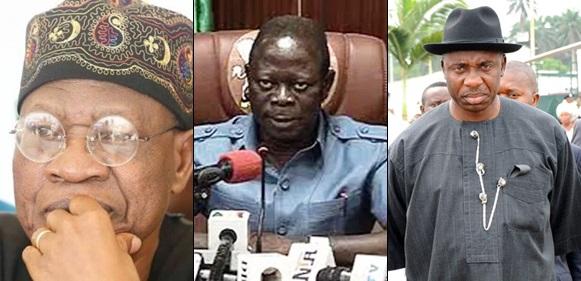 2019 presidency: Amaechi, Lai Mohammed, Oshiomhole will cause civil war – HURIWA warns Buhari