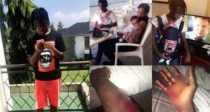 Nigerian man dumps his babymama for stabbing him, a month after they became parents