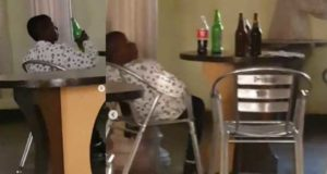 Nigerian man shocked as 13-year-old boy buys 4 bottles of beer to drink (Video)