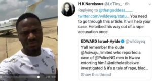 Nigerian man who was accused of being a serial rapist, has been arrested before for blackmail and rape