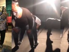 Pastor Thaddeus Matthews shares a video from the weekly twerking session at his church in the U.S