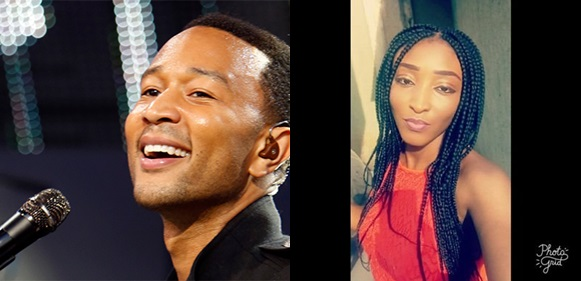 John Legend confesses to a Nigerian lady that his lyrics are all lies