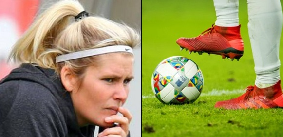 I pick my team on p*nis size – Female German football coach reveals