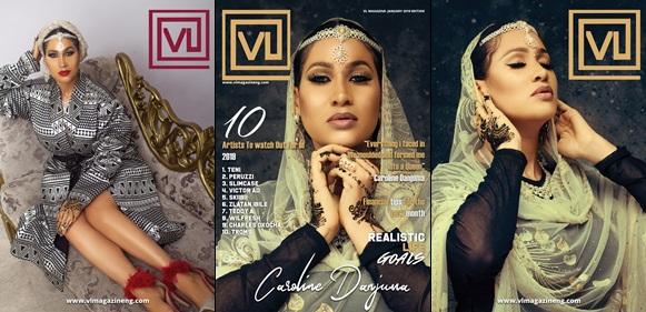 Caroline Danjuma Stuns As An Arabian Princess On The Cover Of VL Magazine's Latest Issue