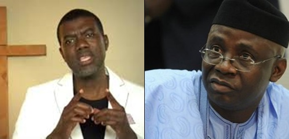 Image result for Reno Omokri Shades Pastor, Tunde Bakare Over Comment On Buhari And Jonathan
