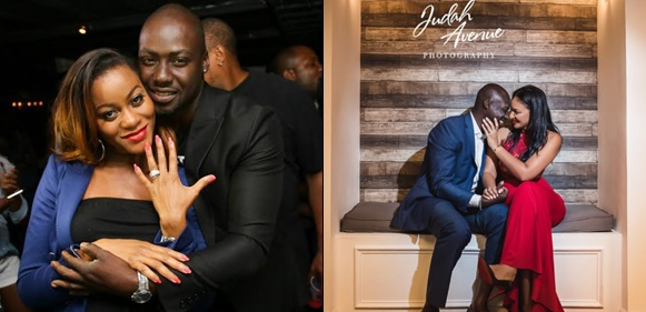 Ghanaian actor Chris Attoh stylishly shades ex-wife Damilola Adegbite in New Year post