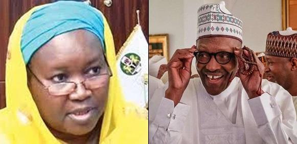 Buhari And Aminat Zakari don't share family relationship – Presidency