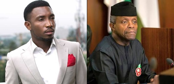 Timi Dakolo blasts Osinbajo for not speaking the truth as a Pastor
