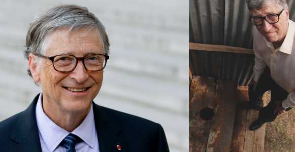 """I once travelled halfway across the world to look at a toilet"" – Bill Gates"