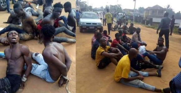 #NigeriansDecides2019: 10 arrested for ballot snatching in Abia (Photos)
