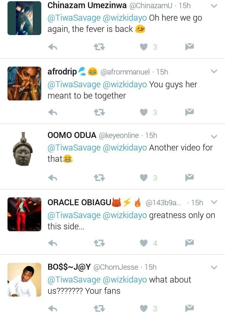 'You Inspire Me So Much Lion' Tiwa Savage Tells Wizkid, Celeb Gossips: 'You Inspire Me So Much Lion' Tiwa Savage Tells Wizkid