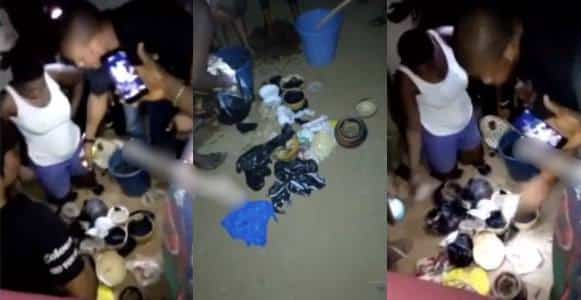3 female students nabbed while performing rituals at 2a.m (Video)