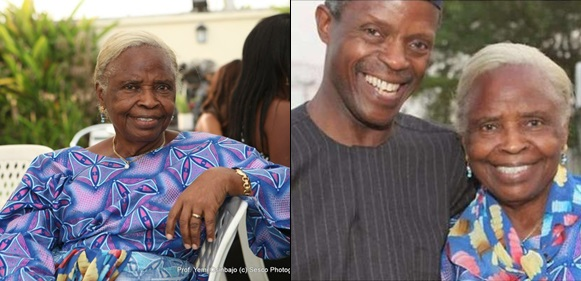 Those saying Buhari, Osinbajo haven't done anything live in another world-Osibanjo's mum defends Buhari-led administration