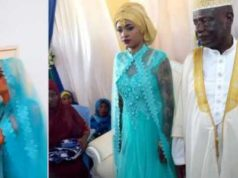 73-year-old man marries 25-year-old woman (video)