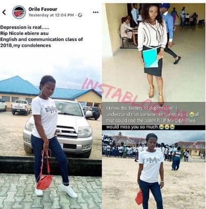 Friends mourn as FUO graduate commits suicide ahead of her NYSC (See Photos) 2
