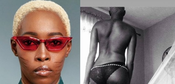 Nigerian Model With Tribal Marks, Adetutu Alabi Shares Topless Photos