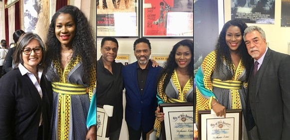 Stephanie Okereke Meets Knowles, Duke, Williamson As She Bags Recognition Award