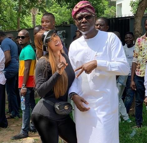 #Nigeria Decides, Sanwoolu, Toke Makinwa