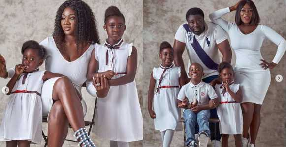 Actress Mercy Johnson shares lovely family photos
