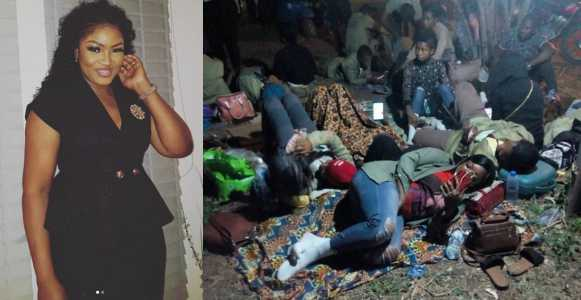 Actress Omotola Jalade reacts to INEC's poor treatment of corpers