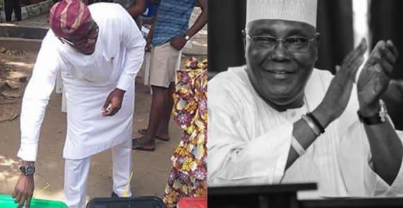 Atiku defeats Buhari at Sanwo-Olu's polling unit
