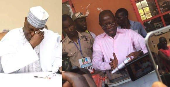 #NigeriaDecides2019: Atiku records zero vote In Oshiomhole's polling unit