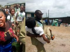 #NigeriansDecide2019: Corps Members Scamper For Safety As Thugs Invade Another Polling Unit In Rivers (Photos)