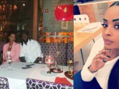 Dillish Mathews replies troll who called her boo Emmanuel Adebayor 'Ugly' (Screenshot)
