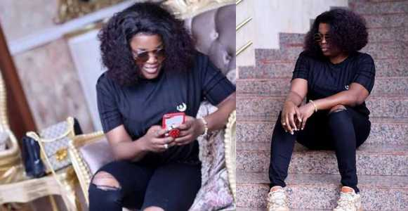Image result for Funke Akindele Bello shows off her post-baby body 2-month after giving birth to a set of twin boys (Photos)
