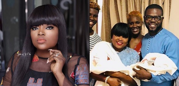 How Actress Funke Akindele Reportedly had her twins through another Woman