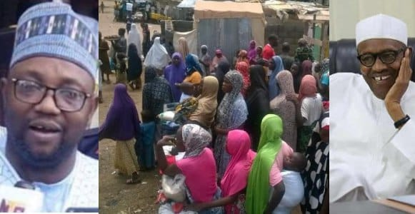 Image result for Governorship Candidate Throws Out IDPs Living In His Houses For Voting Buhari, Say's They Are Not Serious In Life