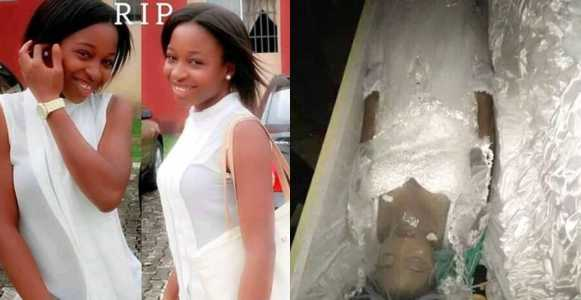 Heartbreaking: Graduate Who Died Few Days To Her Wedding Gets Buried In Her Wedding Gown (Photos)