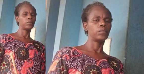 Housewife flogs husband's 11-year-old nephew to death, buries him secretly in Ogun (Photo)