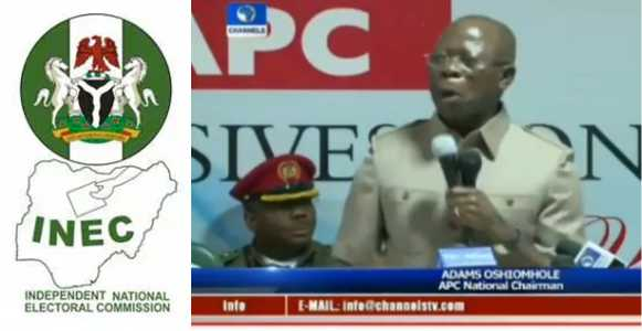 I can swear with the Holy Koran that INEC told PDP before postponing the election - Adams Oshiomole (Video)