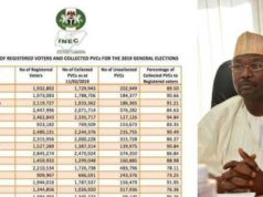 #NigeriaDecides2019: INEC releases total number of registered voters, PVC collection per State