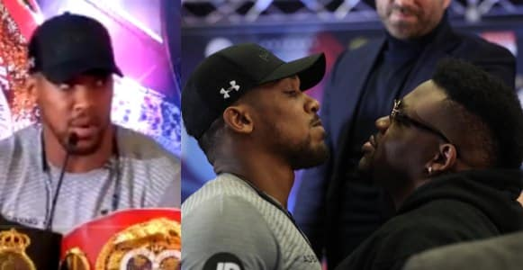 'I'll be your surgeon, I'm going to restructure your face and body' - Anthony Joshua tells Jarrell Miller
